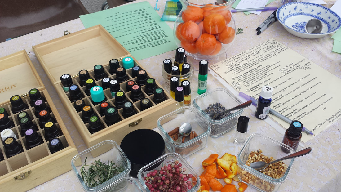 Essential oil and aromatherapy workshop