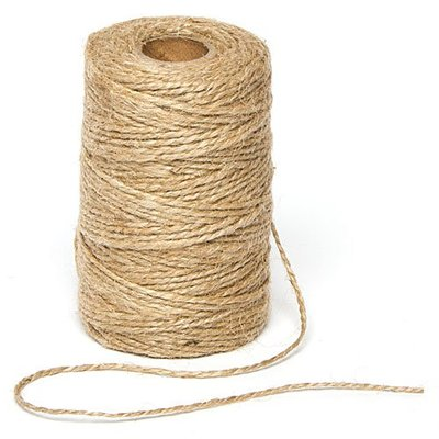 Natural jute twine for Arashi Shibori