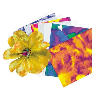 Color diffusing paper- useful for practicing shibori