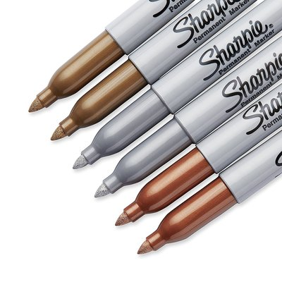 Metallic Sharpies
