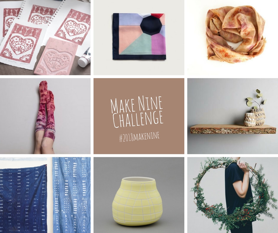Make Nine Challenge 2018: DIY Round-up