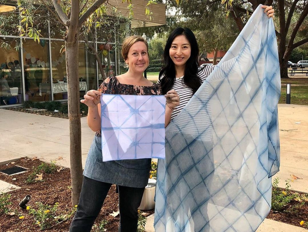 Shibori Scarf Workshop