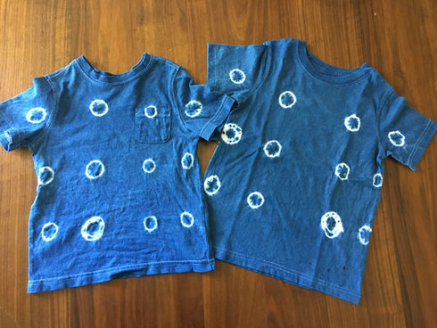 Toddler Shibori T-shirts