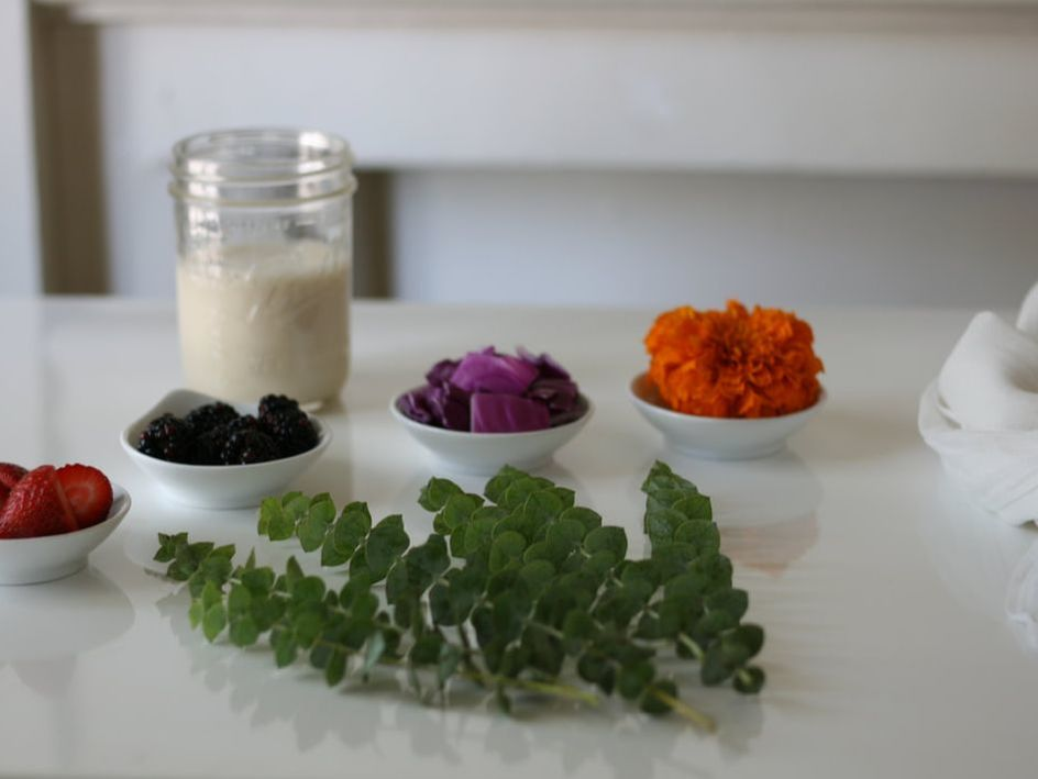 Natural Bundle Dyeing
