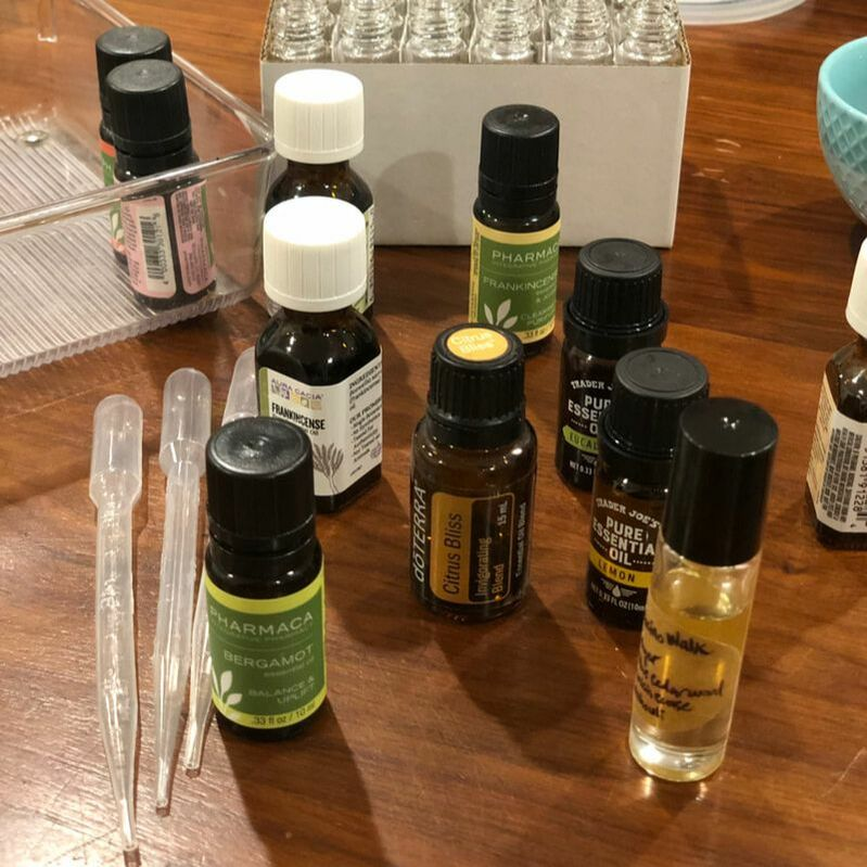 Essential oils roller blend DIY