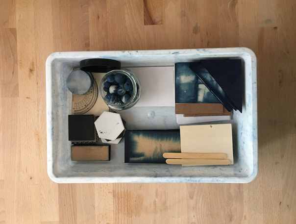 Shibori supplies