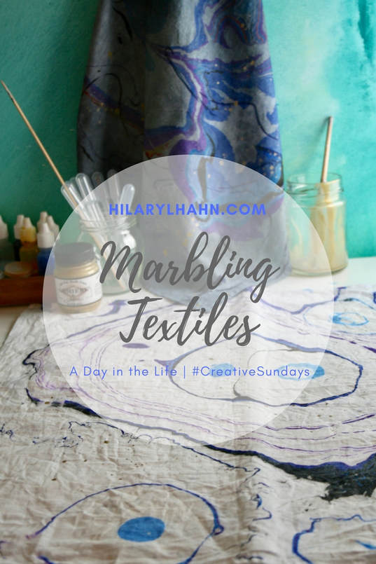 Marbling Textiles Workshop Event