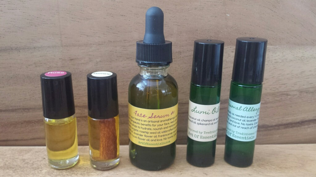 Face Serum and seasonal allergy blend