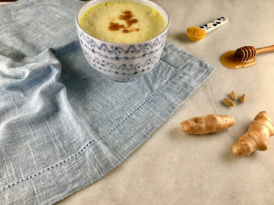 Turmeric Ginger Golden Milk Latte