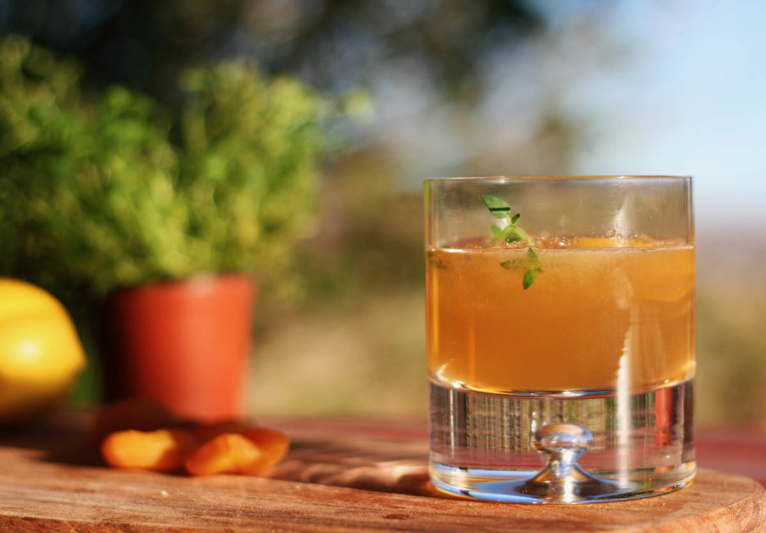 Bourbon, Apricot and Thyme