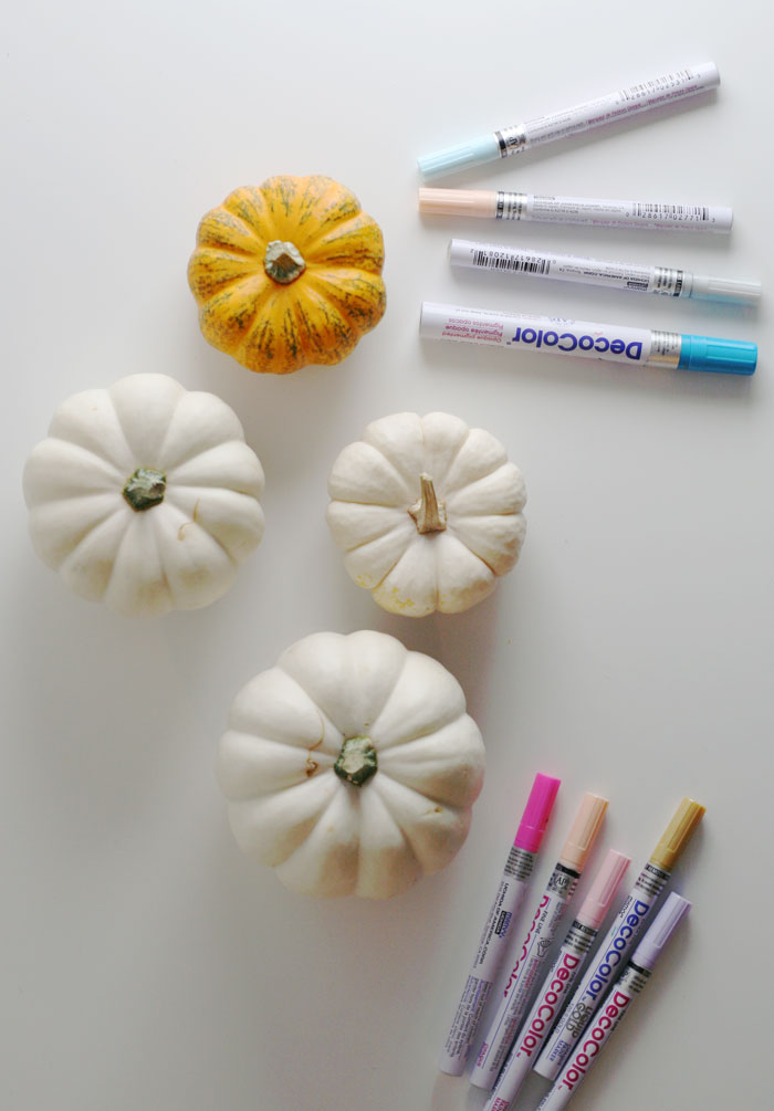 White Mandala pumpkin carve-free tutorial