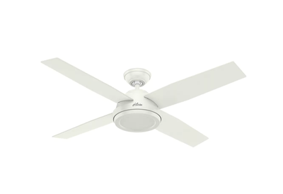 Hunter Modern White Ceiling Fan