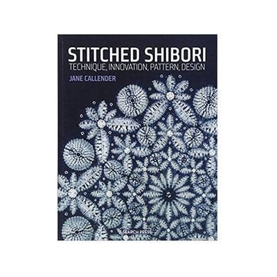Stitched Shibori by Jane Calender