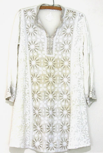 White Indian Kurta tunic